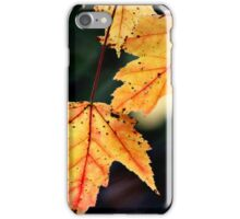 Red in the Veins iPhone Case/Skin