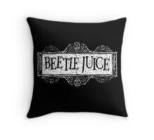 Beetlejuice Throw Pillow