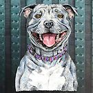 Staffordshire Bull Terrier by didielicious