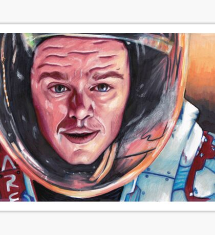 Mark Watney The Martian Sticker