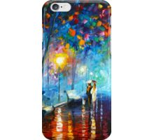 MISTY MOOD - Leonid Afremov iPhone Case/Skin