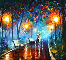 MISTY MOOD - Leonid Afremov by Leonid Afremov