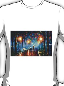 MISTY MOOD - Leonid Afremov T-Shirt