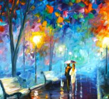 MISTY MOOD - Leonid Afremov Sticker