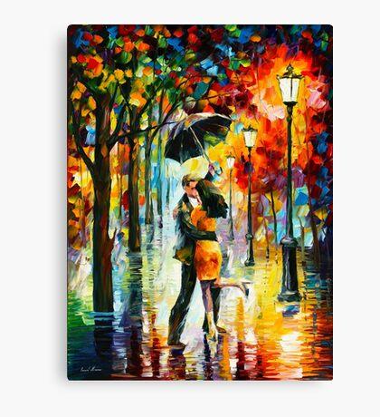 DANCE UNDER THE RAIN - Leonid Afremov Canvas Print