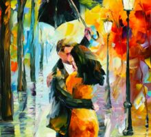 DANCE UNDER THE RAIN - Leonid Afremov Sticker