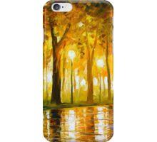 BEWITCHED PARK - Leonid Afremov iPhone Case/Skin