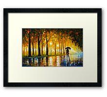BEWITCHED PARK - Leonid Afremov Framed Print