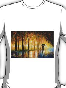 BEWITCHED PARK - Leonid Afremov T-Shirt