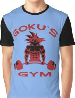 Goku`s Gym Graphic T-Shirt
