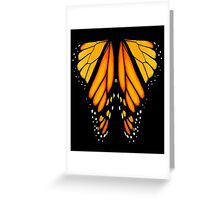 Monarch Butterfly Wings Greeting Card