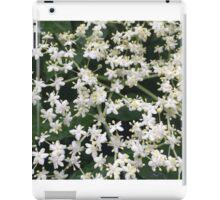 Elderberry Blossoms iPad Case/Skin