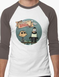 The Marvelous Misadventures of Growley and Squirrel Men's Baseball ¾ T-Shirt