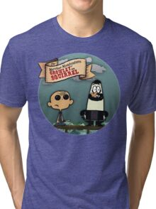The Marvelous Misadventures of Growley and Squirrel Tri-blend T-Shirt