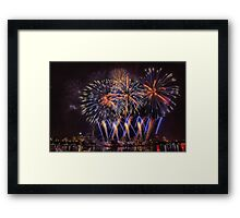 Blue Stars Framed Print