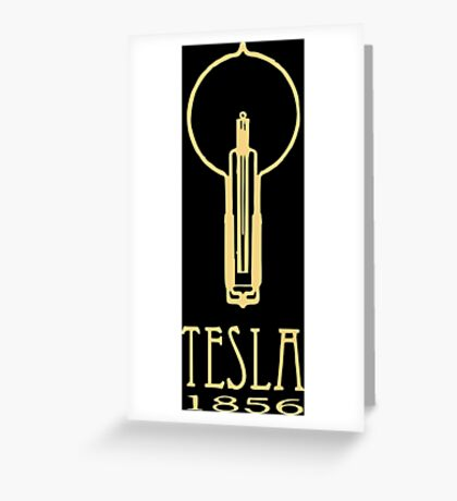 Tesla 1856 Greeting Card