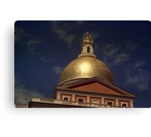 State House Dome > Canvas Print