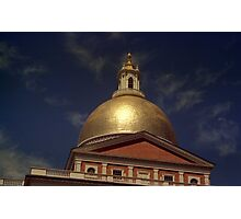 State House Dome > Photographic Print