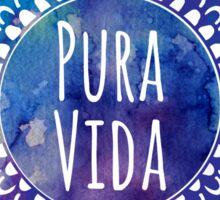 Pura Vida Watercolor Mandala Sticker