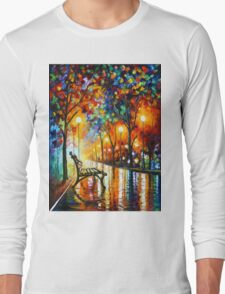 THE LONELINESS OF AUTUMN - Leonid Afremov Long Sleeve T-Shirt