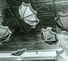 Umbrellas on the Ceiling by Ron LaFond