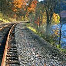 Tracks Along Oil Creek by Geno Rugh