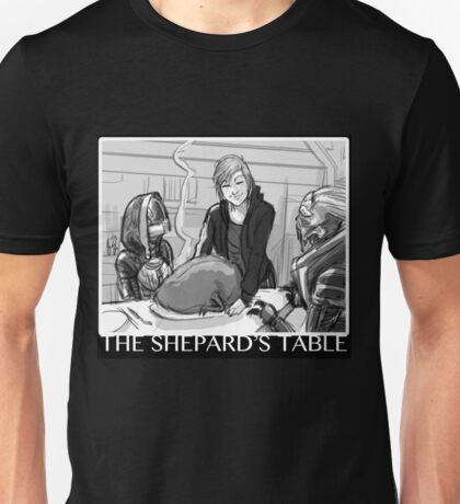Mass Effect - The Shepard's Table Unisex T-Shirt