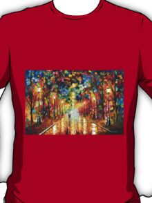FAREWELL TO ANGER - Leonid Afremov T-Shirt
