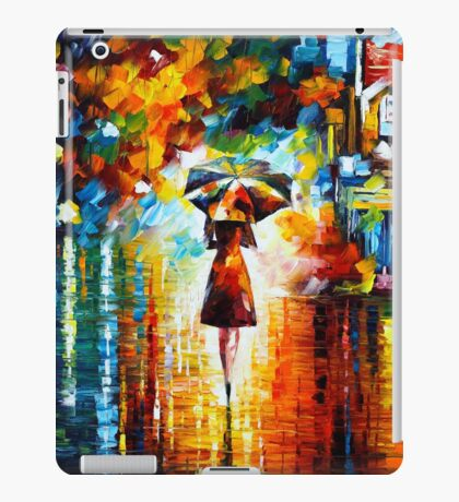 rain princess - Leonid Afremov iPad Case/Skin