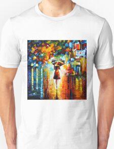 rain princess - Leonid Afremov Unisex T-Shirt