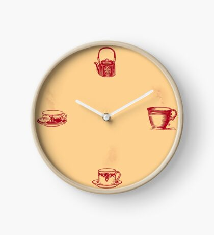 Always Time for Coffee Clock