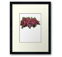 Graffiti Tees 12 Framed Print
