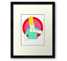 bright young  thing  Framed Print