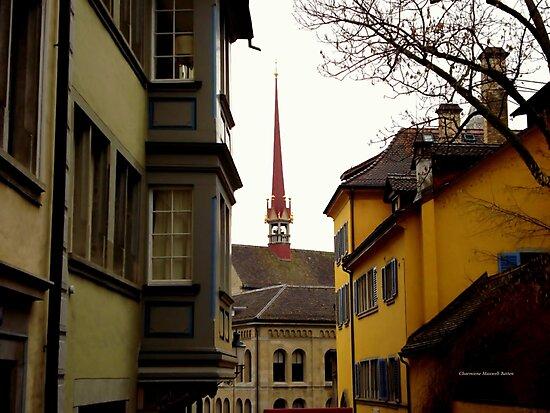 Colour in Zurich Rennweg by Charmiene Maxwell-Batten
