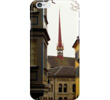 Colour in Zurich Rennweg iPhone Case/Skin
