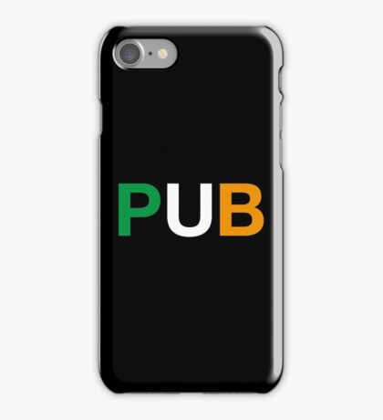 PUB iPhone Case/Skin