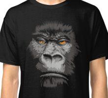 Cool Real Apes Monkey Face T-shirt Gorilla Head Face Tshirt Classic T-Shirt