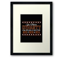SF Dynasty Framed Print