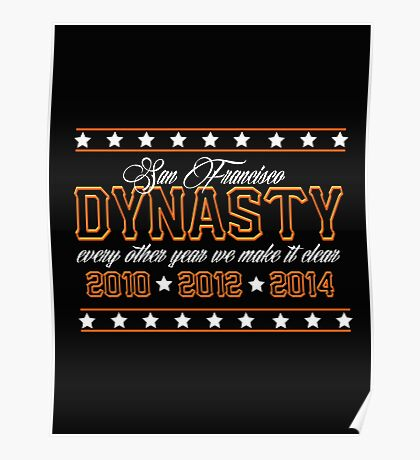 SF Dynasty Poster