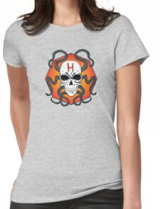 Hail Hydra Skull Womens Fitted T-Shirt