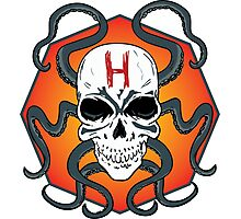 Hail Hydra Skull Photographic Print