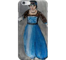 Modeling Her New Harem Outfit iPhone Case/Skin