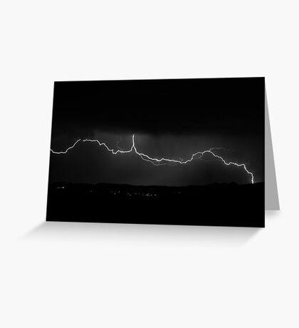 Prescott, Arizona Lightning Greeting Card