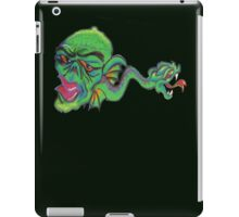 Graffiti~green critter  iPad Case/Skin