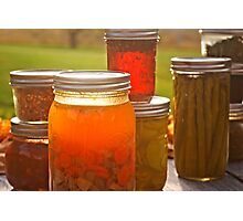 Canning in Autumn Photographic Print