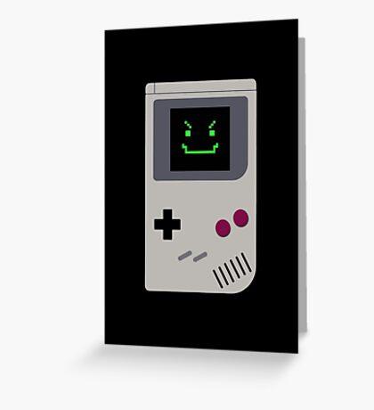 Gamebot Greeting Card