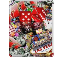 Gamblers Delight - Las Vegas Icons Background iPad Case/Skin