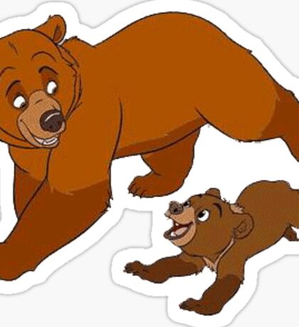 Brother Bear - Kenai and Koda Sticker