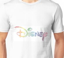 Disney Word Cloud Character Names Unisex T-Shirt