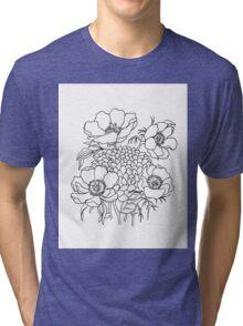 Peony Tri-blend T-Shirt